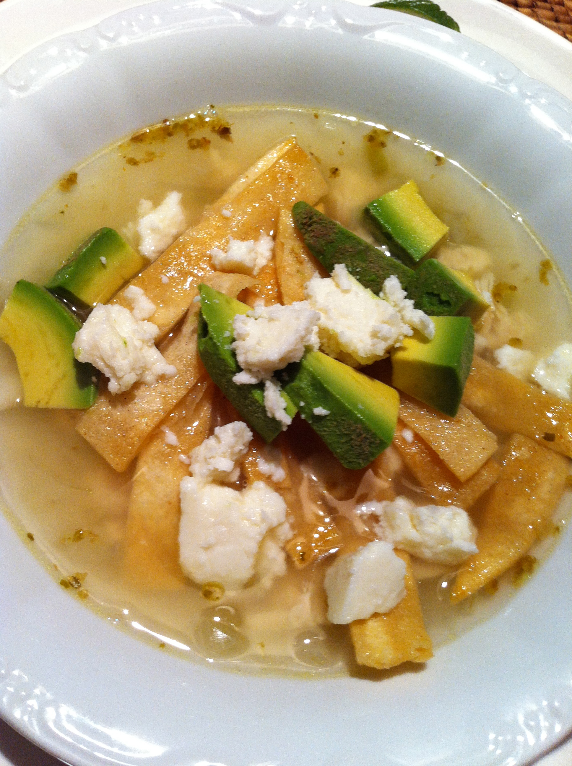 Mexican Lime Soup With Chicken (Mexican Oregano) Recipes ...