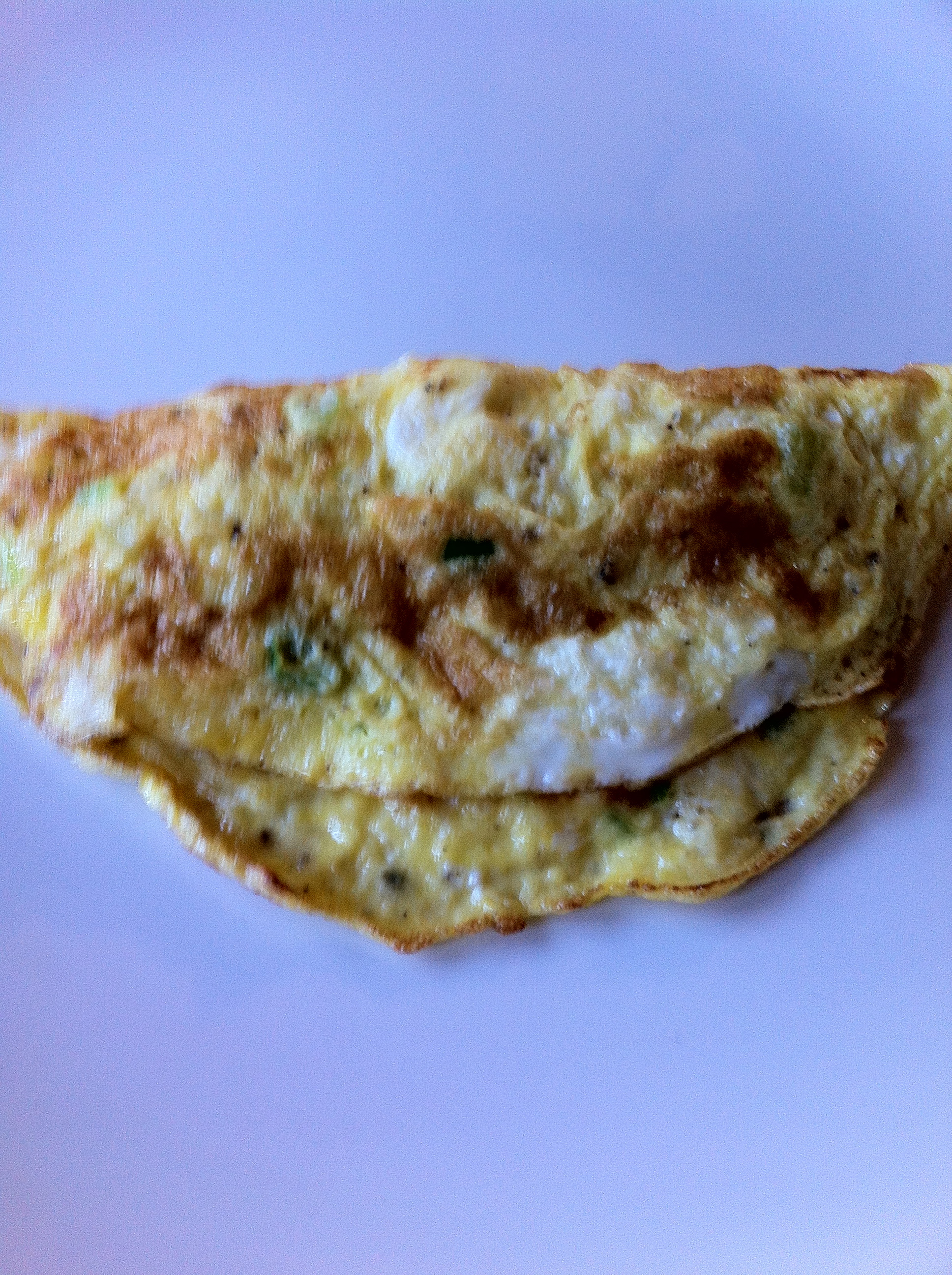 how to make omelet creamy